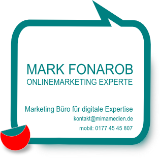 Kontakt Online Marketing Beratung