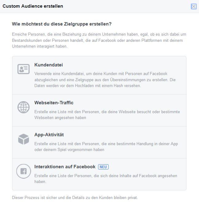 Facebook Zielgruppen-Marketing für Unternehmen